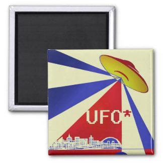 Imã UFO acima do ímã de Milton Keynes