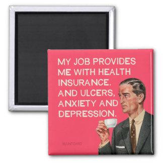 Imã Úlceras e depressão do seguro