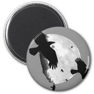 Imã Um assassinato dos corvos e da lua