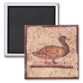 Imã Um pato, detalhe de Orpheus que encanta os animais