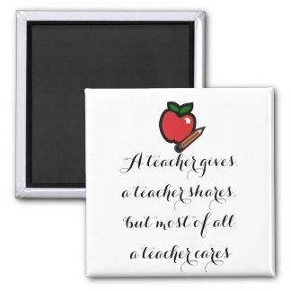 Imã Um professor cuidado-Personalizou-o
