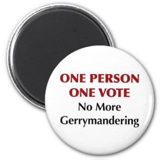 Imã Um voto da pessoa uma, Gerrymandering