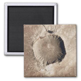 Imã Uma cratera do impacto do meteorito