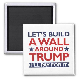 Imã Uma parede em torno do trunfo