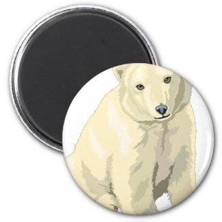 Imã Urso polar peluches