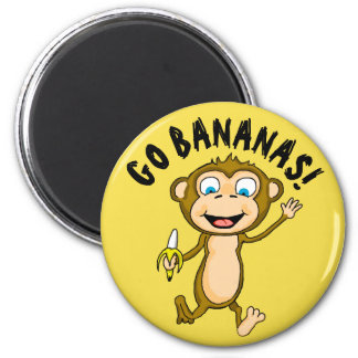 Imã Vai o ímã redondo das bananas