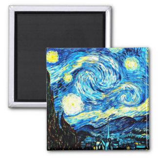 Imã Van Gogh: Noite estrelado
