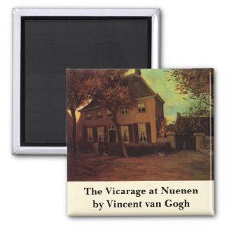 Imã Van Gogh o Vicarage em Nuenen, belas artes do