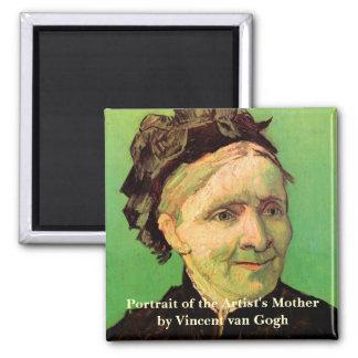 Imã Van Gogh; Retrato da mãe do artista, arte do