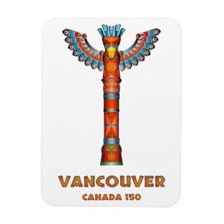 Ímã Vancôver (BC) Canadá - Totem pólo