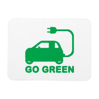 Ímã Vão os carros elétricos da movimentação verde do ~