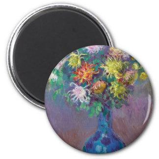 Imã Vaso dos crisântemos Claude Monet
