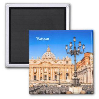 Imã Vaticano quadrado do ímã