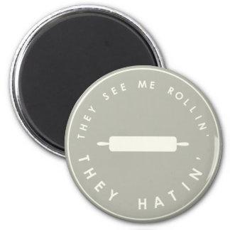 Imã Vêem-me cinza de Rollin-