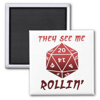 Imã Vêem-me ímã engraçado de Rollin