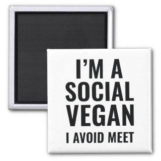 Imã Vegan social
