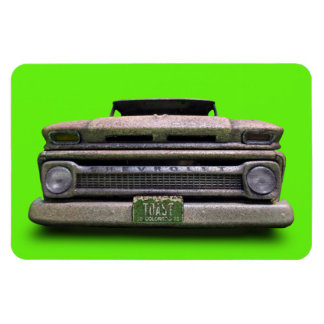 Ímã velho oxidado do camionete de Colorado do