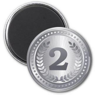 Imã Vencedor do lugar do medalhista de prata ò
