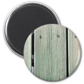 Imã Verde e passagem de madeira da prancha de Brown