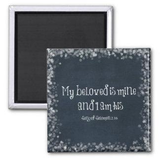 Imã Verso da bíblia: Meu amado é meu e eu sou seu