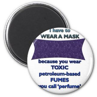 Imã Vestindo uma máscara porque