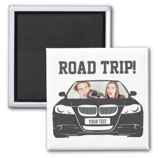 Imã Viagem por estrada feita sob encomenda engraçada