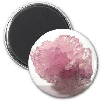 Imã Viajantes da felicidade de quartzo cor-de-rosa