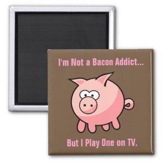 Imã Viciado engraçado do bacon