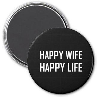 Imã Vida feliz da esposa feliz