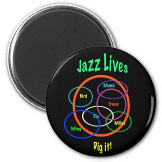 Imã Vidas do jazz