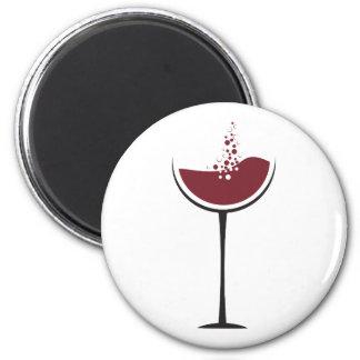 Imã Vidro de vinho