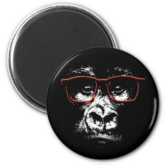 Imã Vidros do vermelho do gorila