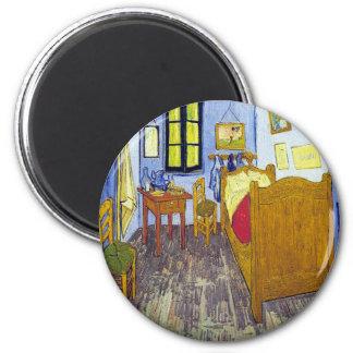 Imã Vincent van Gogh 1888 o quarto em Arles