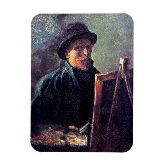 Ímã Vincent van Gogh - chapéu de feltro escuro do