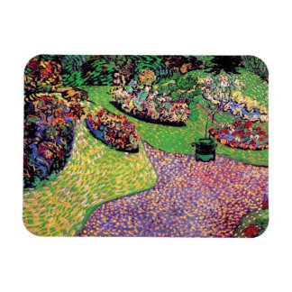 Ímã Vincent van Gogh - jardim em belas artes de Auvers