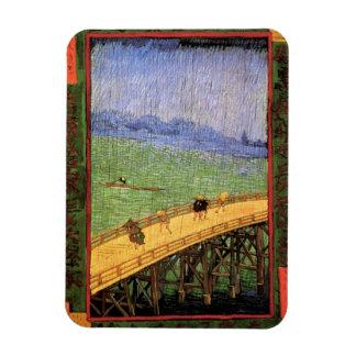 Ímã Vincent van Gogh - ponte na arte do japonês da