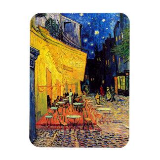 Ímã Vincent van Gogh - terraço do café em belas artes