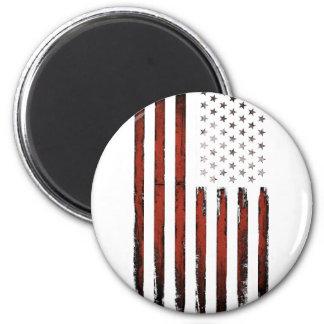 Imã Vintage americano da bandeira dos Estados Unidos