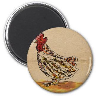 Imã Vintage da galinha