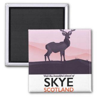 Imã Visite a ilha bonita de Skye