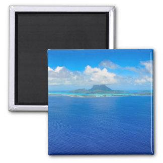 Imã Vista aérea sobre o ímã de Bora Bora
