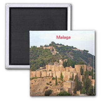 Imã Vista da fortaleza de Alcazaba em Malaga