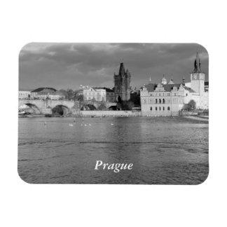 Ímã Vista da ponte de Charles em Praga