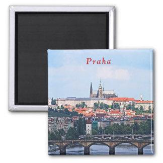 Imã Vista de Praga da fortaleza de Vyšehrad