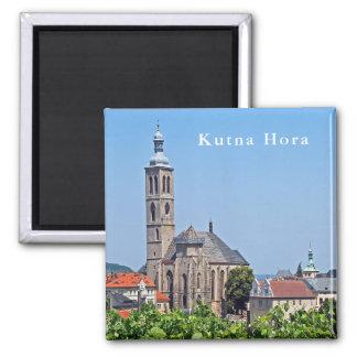 Imã Vista de St James e de Kutna Hora.