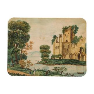 Ímã Vista de um castelo