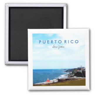 Imã Vista do EL Morro, San Juan, Puerto Rico