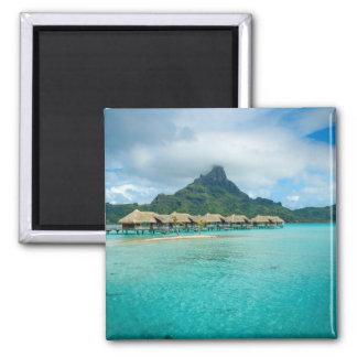 Imã Vista no ímã do quadrado da ilha de Bora Bora
