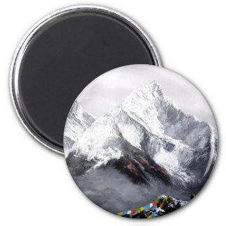 Imã Vista panorâmica da montanha de Everest