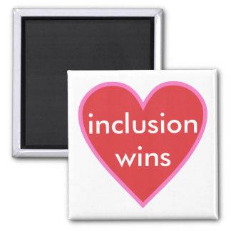 Imã vitórias da inclusão